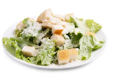 Caesar salad without meat Reklamní fotografie