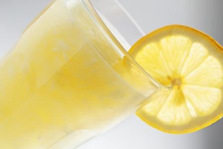 Lemonade closeup