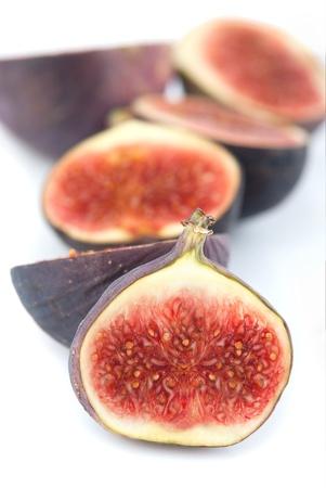 purgative: half cutted fresh fig fruits