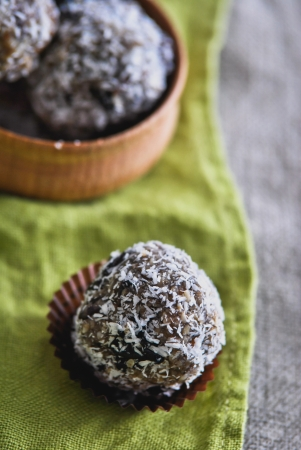 vegetarian sweets photo