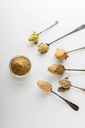 Ayurvedic cosmetic ubtan for face and hair care Reklamní fotografie