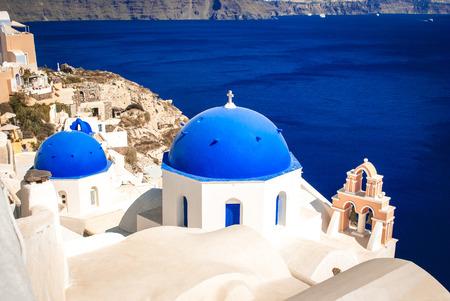 santorini island: Oia Village on Santorini Island, Greece