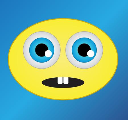 suprise: Surprised smile