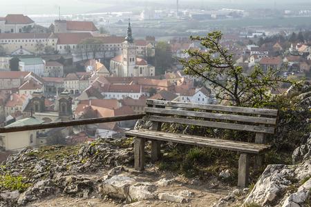 stourhead: Bench and view, Mikulov - Czech Republic
