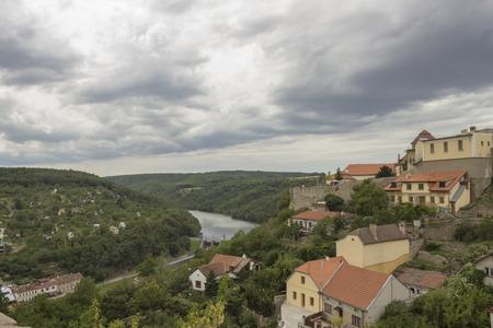 Beautiful view in Znojmo Stock Photo