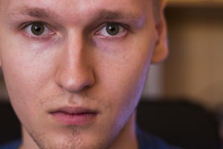 serious face: Serious face