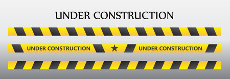 dangerous construction: Under construction Illustration