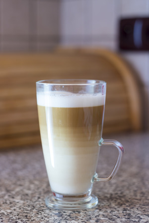 cappuccino cup: Latte macchiato