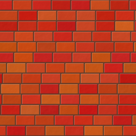 red brick: Red brick wall texture Stock Photo