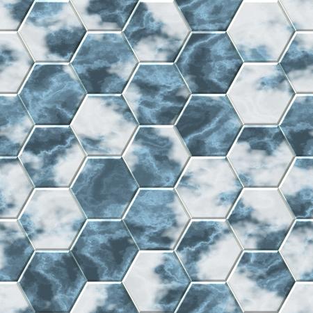 Hexacomb tiling