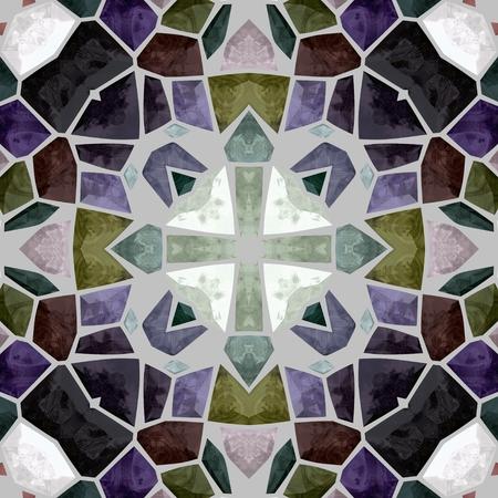 kaleidoscope: Abstract kaleidoscope background or texture