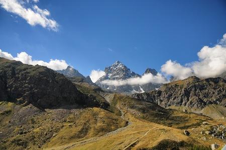 The Viso Mount Alps Piedmont site Stock Photo