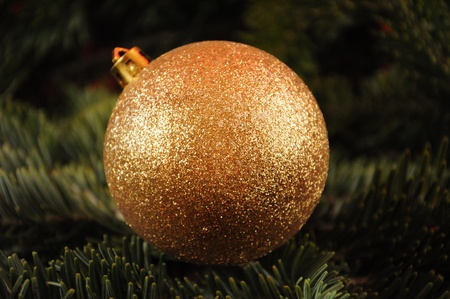 Christmas Globe Stock Photo