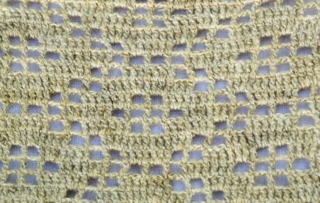 crocheted linen Stock Photo - 17467476