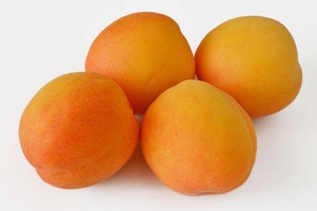 juicy ripe apricots