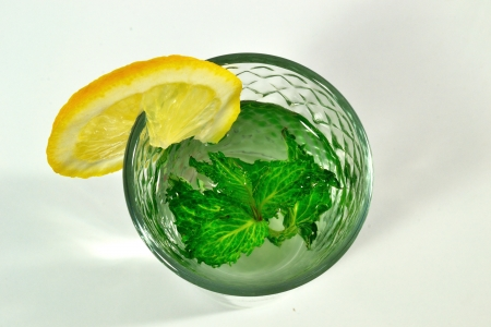 lemonade with mint photo