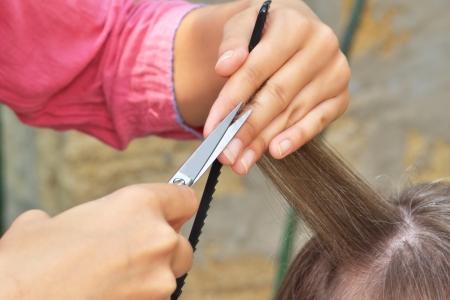 hands hairdresser photo