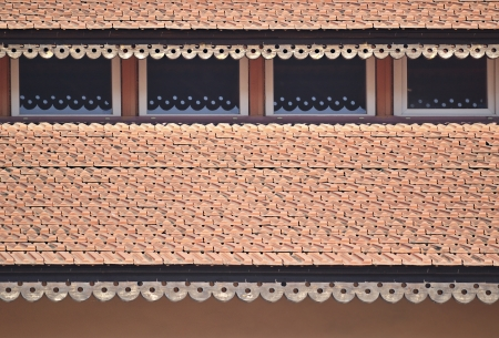 fragment of a house roof photo
