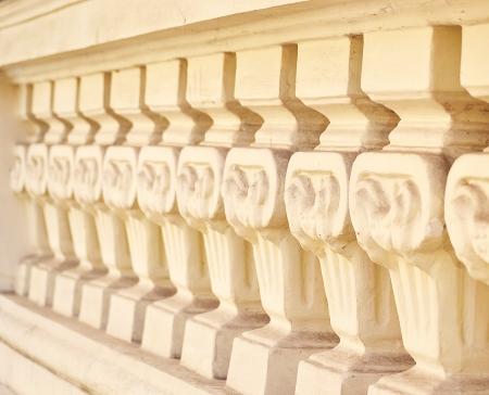 stone fence Stock Photo - 25267081