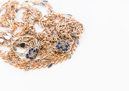 gold jewelry Stock Photo - 25862265