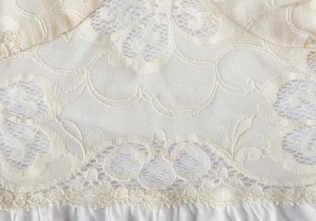 white linen: lino blanco y encaje