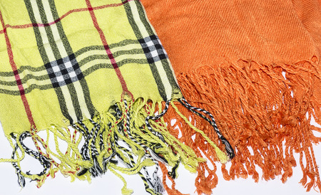 scarves: womens scarves Stock Photo