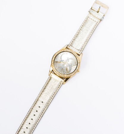 ladies watch on a leather strap