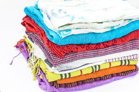 sciarpe: set di sciarpe multicolori