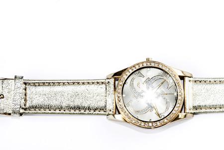 Wristwatch macro Stock Photo