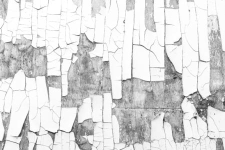 heavily: heavily cracked paint on a wall