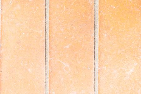 orange brick wall close-up Stock Photo