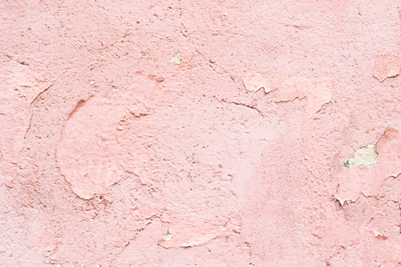 old pink paint on the wall Stock Photo