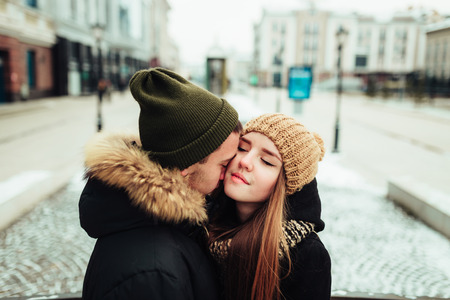 loved: a man and woman who loved each other Stock Photo