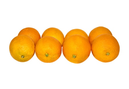 orange isolated on white background  Stock Photo - 12719426