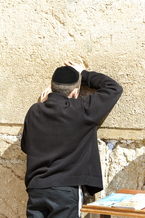 mishnah: Jews praying at the Western Wall - Jerusalem