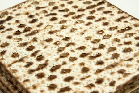 jewish passover matzah photo
