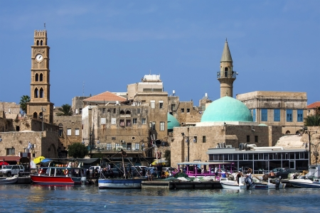 View on old town of Akko