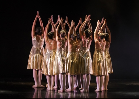 Netania -JULY 12  final concert of the School of Ballet on July 12, 2012 in Netania, Israel