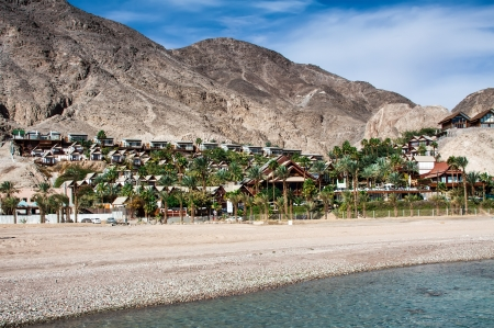 Eilat, Red Sea landscape Stock Photo - 21870365