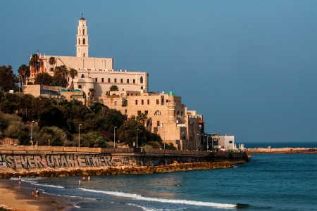 Old Jaffa seascape view , Israel