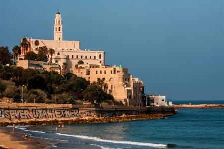 yaffo: Old Jaffa seascape view , Israel