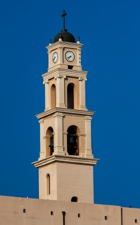 St. Peter's church tower in Jaffa photo