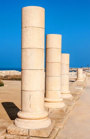 caesarea: Caesarea park of ruins