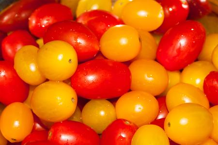 Group of fresh tomatoes Stock Photo