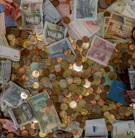 Global collection of money to help the needy