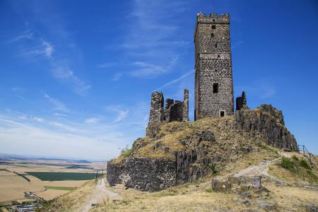 Hazmburk castle in Czech Central Mountains 版權商用圖片 - 110763737