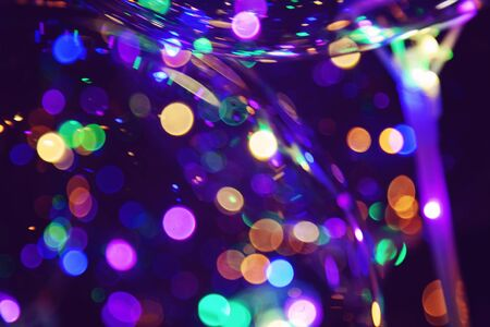 Colorful light bokeh abstract background Stock fotó - 132542584