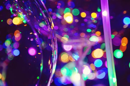 Colorful light bokeh abstract background Stock fotó - 132542938