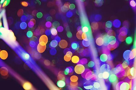 Colorful light bokeh abstract background Stock fotó - 132542433