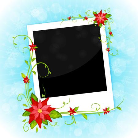 christmas photo frame: christmas photo frame